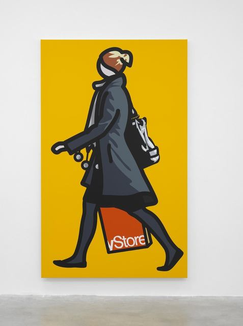 , 'Woman with shopping bag and scarf,' 2012, Corridor Contemporary