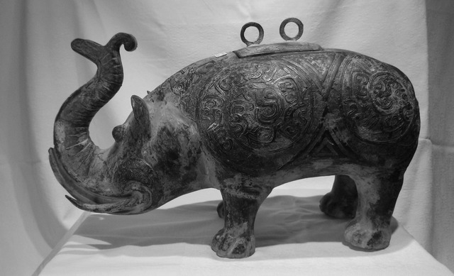 , 'Chinese Bronze Elephant Vessel,' 1700 BCE-200 BCE, Arctic Experience McNaught Gallery