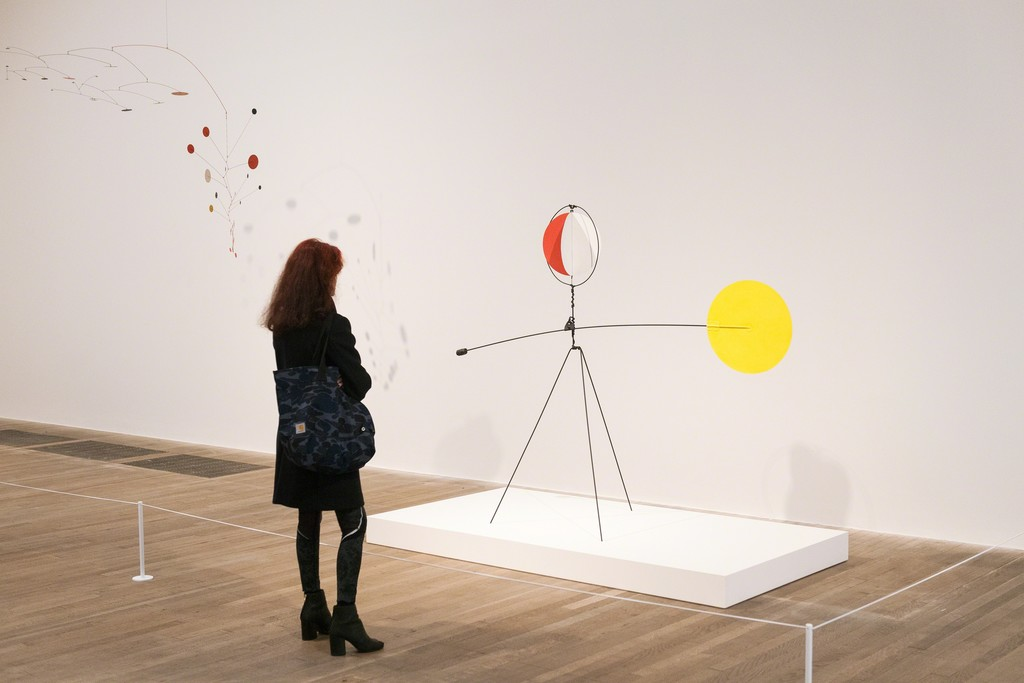 Installation photograph, Alexander Calder: Performing Sculpture