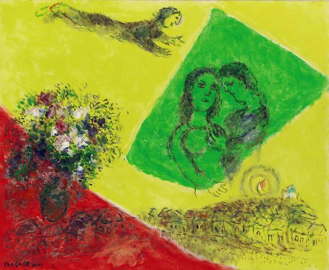 , 'Les Amoureux au carré vert,' ca. 1970-1975, Opera Gallery