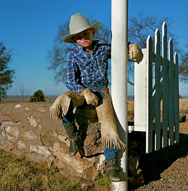 Derrick Santini, 'Young cowboy, Amarillo, USA', 1989, David Hill Gallery