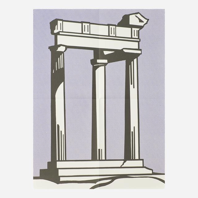 Roy Lichtenstein, 'Temple', 1964, Rago