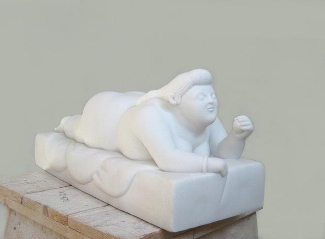 Fernando Botero, 'Donna distesa', 2013, Barbara Paci Art Gallery