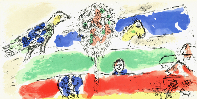 Marc Chagall, 'The Green River', 1975, ArtWise