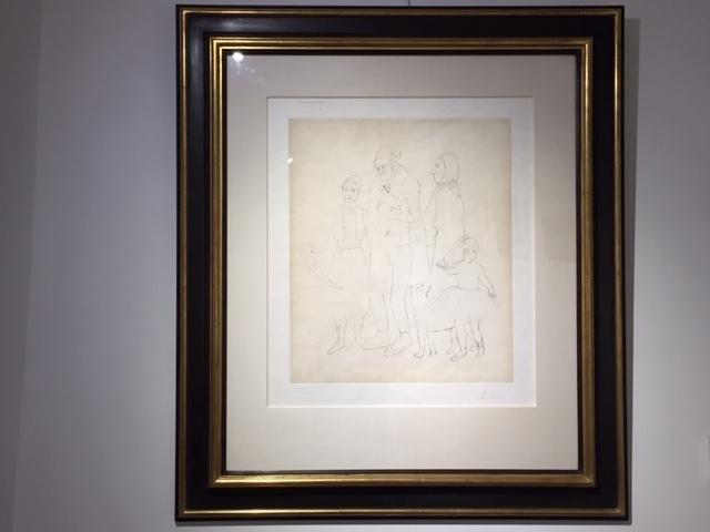 , 'La Famille Des Saltimbanques,' 1950, Reuben Colley Fine Art