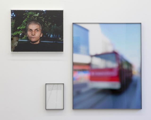 , 'Blind with minibus, (La Dernière Image The Last Image),' 2010, Galerie Krinzinger