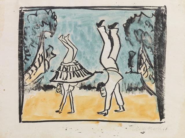 , 'VARIETÉSZENE,' 1911, Jörg Maass Kunsthandel