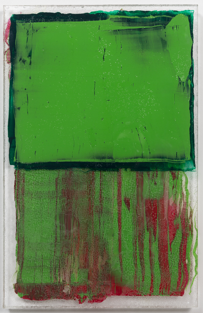 , 'Emerald Transference,' 2016, JanKossen Contemporary