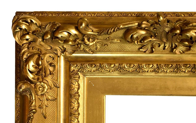 , 'American Louis XV Style Gold Leaf Frame 1890-1900 (10x12),' 1890-1900, Susquehanna Antique Company