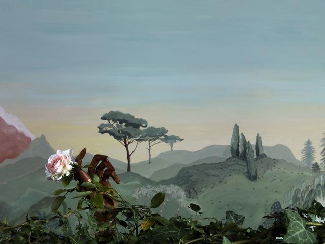 , 'La Rose,' 2019, Galerie XII