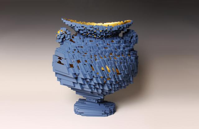 , 'Voxel Vessel 1,' 2013, Bellevue Arts Museum