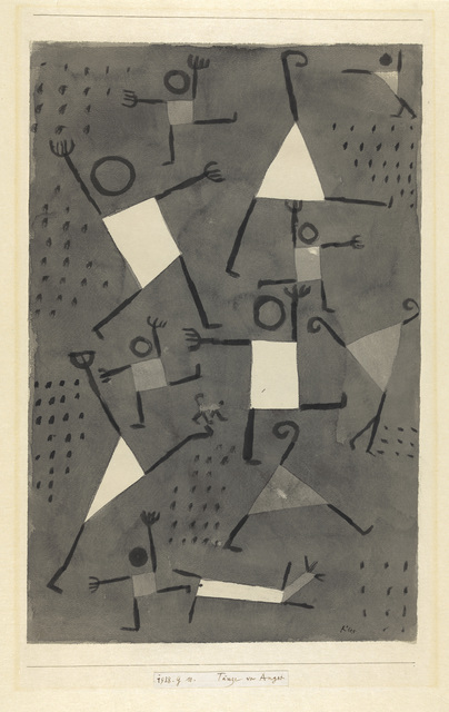 Paul Klee, 'Danses sous l'empire de la Peur', 1938, Centre Pompidou