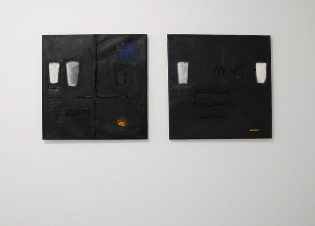 Endale Desalegn, 'Diptych, Milk and Darkness 9 (Witet/Chiema 9) (left) and Milk and Darkness 7 (Witet/Chiema 7)', 2014, David Krut Projects