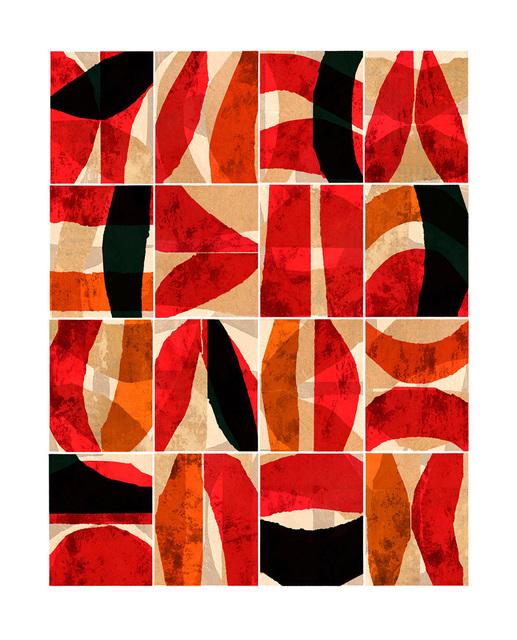 , 'Paradigm / Red,' 2016, Santa Fe Editions