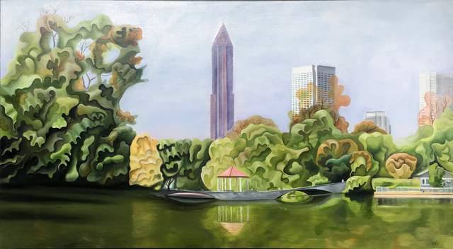 Emma Knight | Piedmont Park (ca  2018) | Available for Sale | Artsy