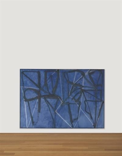 Brice Marden, 'Blue Horizontal', Christie's