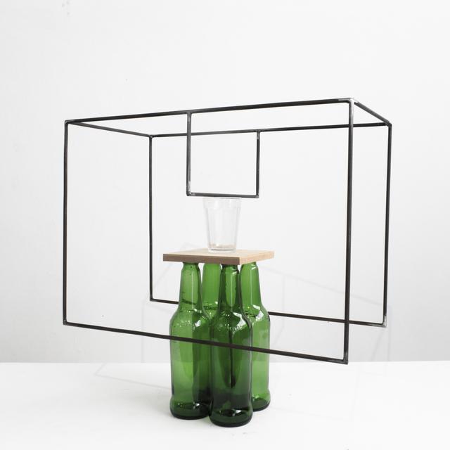 Raul Mourão, '4 cervejas (para Guto Lacaz) ', 2019, Galeria Nara Roesler