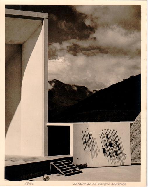 , 'Detalle de la Concha Acústica,' 1954, Henrique Faria Fine Art