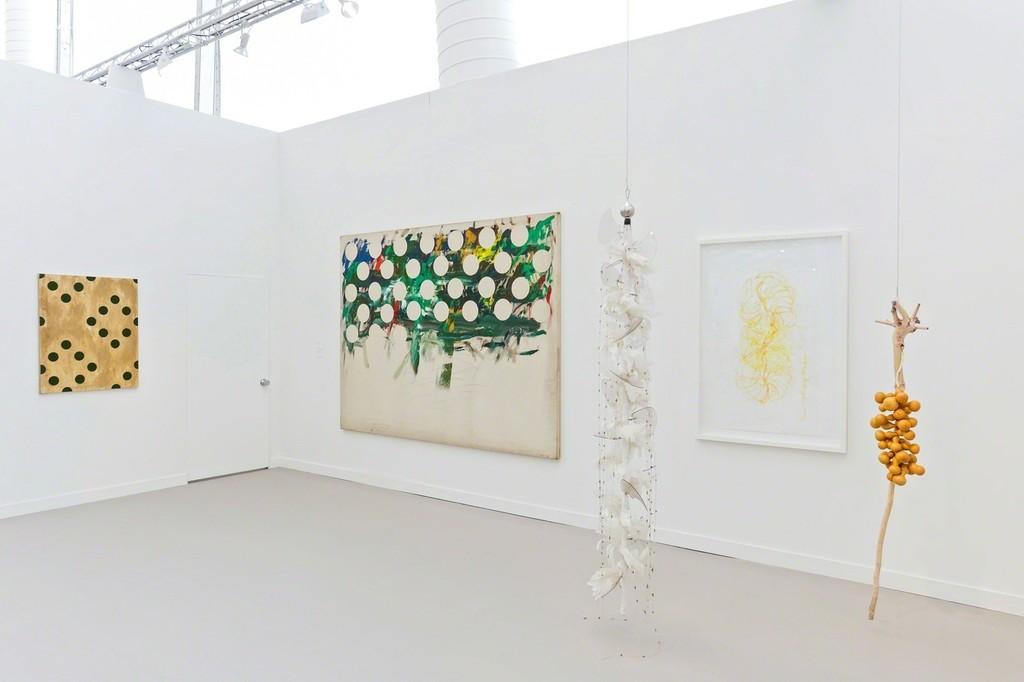 Tina Kim Gallery at Frieze NY 2018. Photo copyright Charles Roussel and Ocula