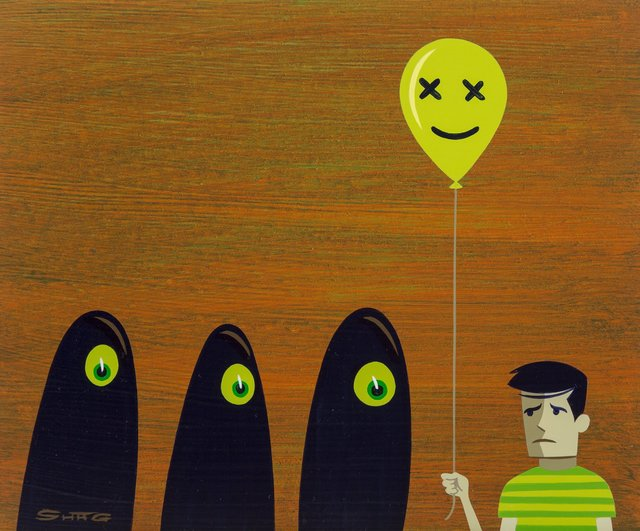 Josh Agle (Shag), 'A Discouraging Realization', 2009, Heritage Auctions