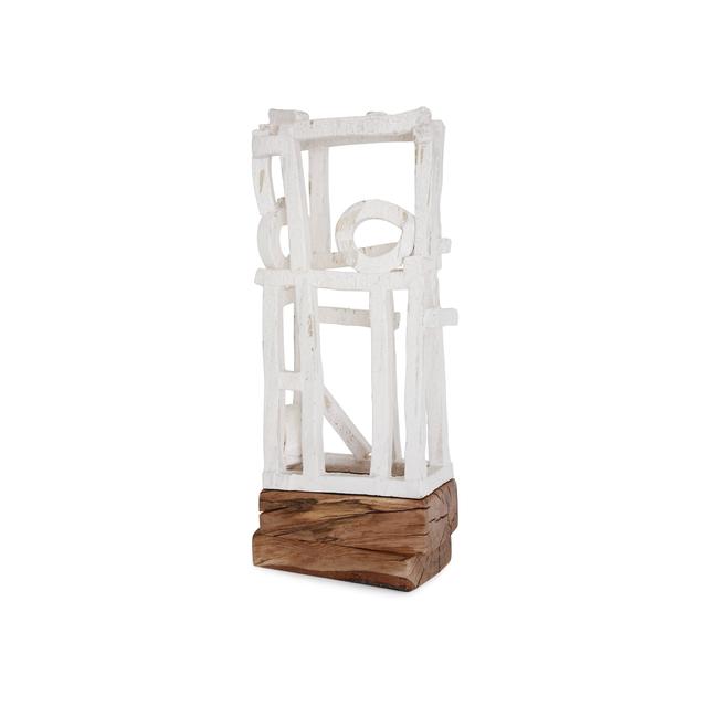 Brandon Reese, 'ARAPAHOE', Sculpture, Stoneware, Wood, Exhibit by Aberson