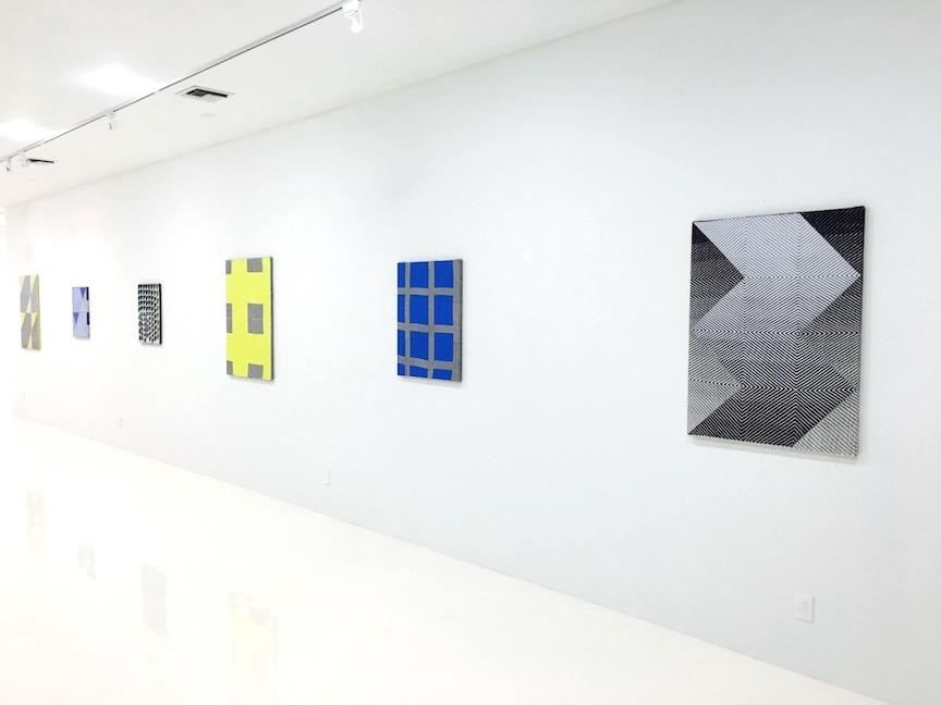 Installation view 1 | Oscillate | Samantha Bittman | C O U N T Y | Palm Beach, FL