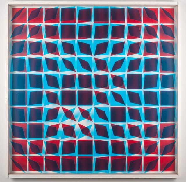 , 'Kinetisches Objekt,' 1966-1968, Galerie Hubert Winter