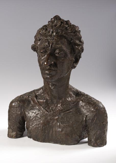 , 'Bust of Jacob Kramer,' 1921, Ben Uri Gallery and Museum