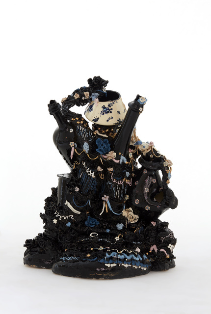 , 'Black Confection,' 2015, Pippy Houldsworth Gallery