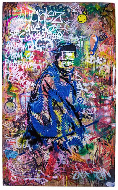 , 'Himba Cowboy and Slang Street Language ,' 2016, MOV'ART Gallery
