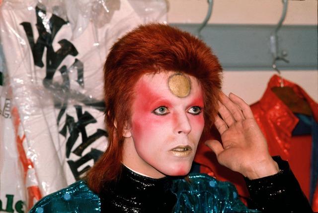, 'Bowie, Backstage Hand to Ear,' 1973, TASCHEN