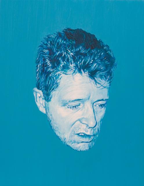 , 'Untitled (Self Portrait, Blue),' 2010, Metro Pictures