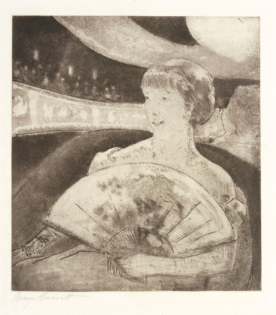 , 'In the Opera Box (No. 3),' ca. 1880, Blanton Museum of Art