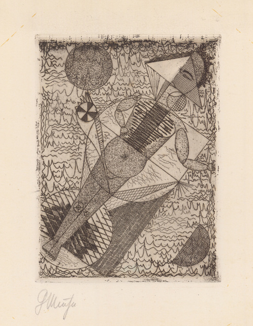 , 'STERNBILD (COGITO ERGO CREDO),' 1922, Jörg Maass Kunsthandel