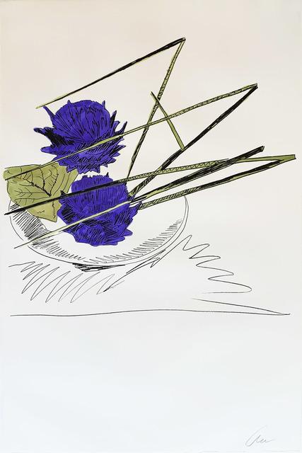 Andy Warhol, 'Flowers (Hand-Colored) II.116', 1974, Hamilton-Selway Fine Art