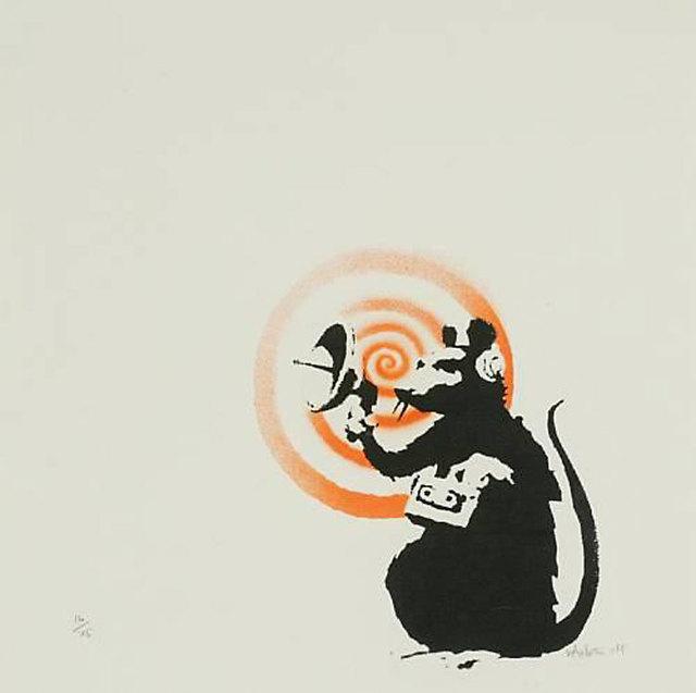 Banksy, 'Radar Rat (Signed & Hand-Finished)', 2004, Prescription Art