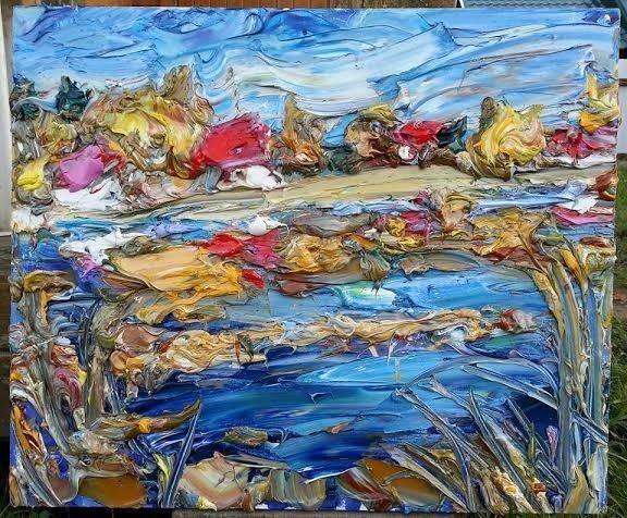 , 'Lake near Zvenigorod,' 2013, Vasilisa Kameneva