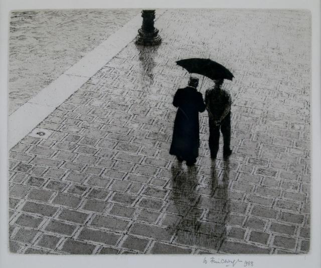 Wilfred Fairclough, 'Conversation Zattere, Venice', 1983, Private Collection, NY