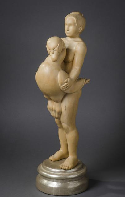 , 'Leda Becoming a Swan,' 2006, Hieronymus