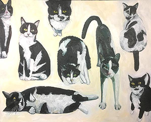 John Kilduff, 'Cow Cats', 2017, bG Gallery
