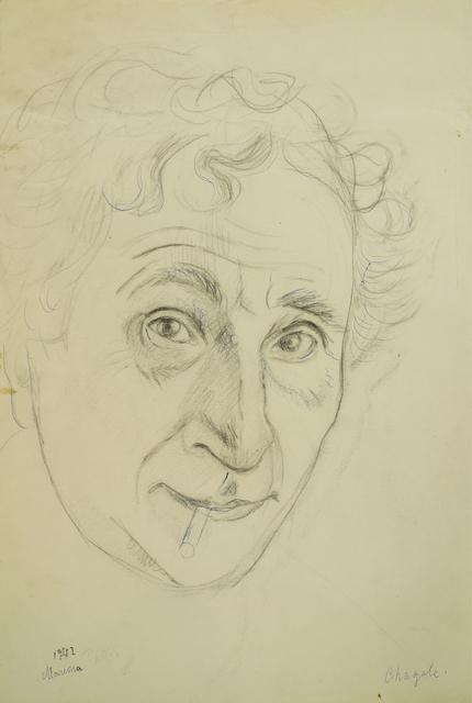 Marie Vorobieff Marevna, ''Chagall, 1942'', Roseberys