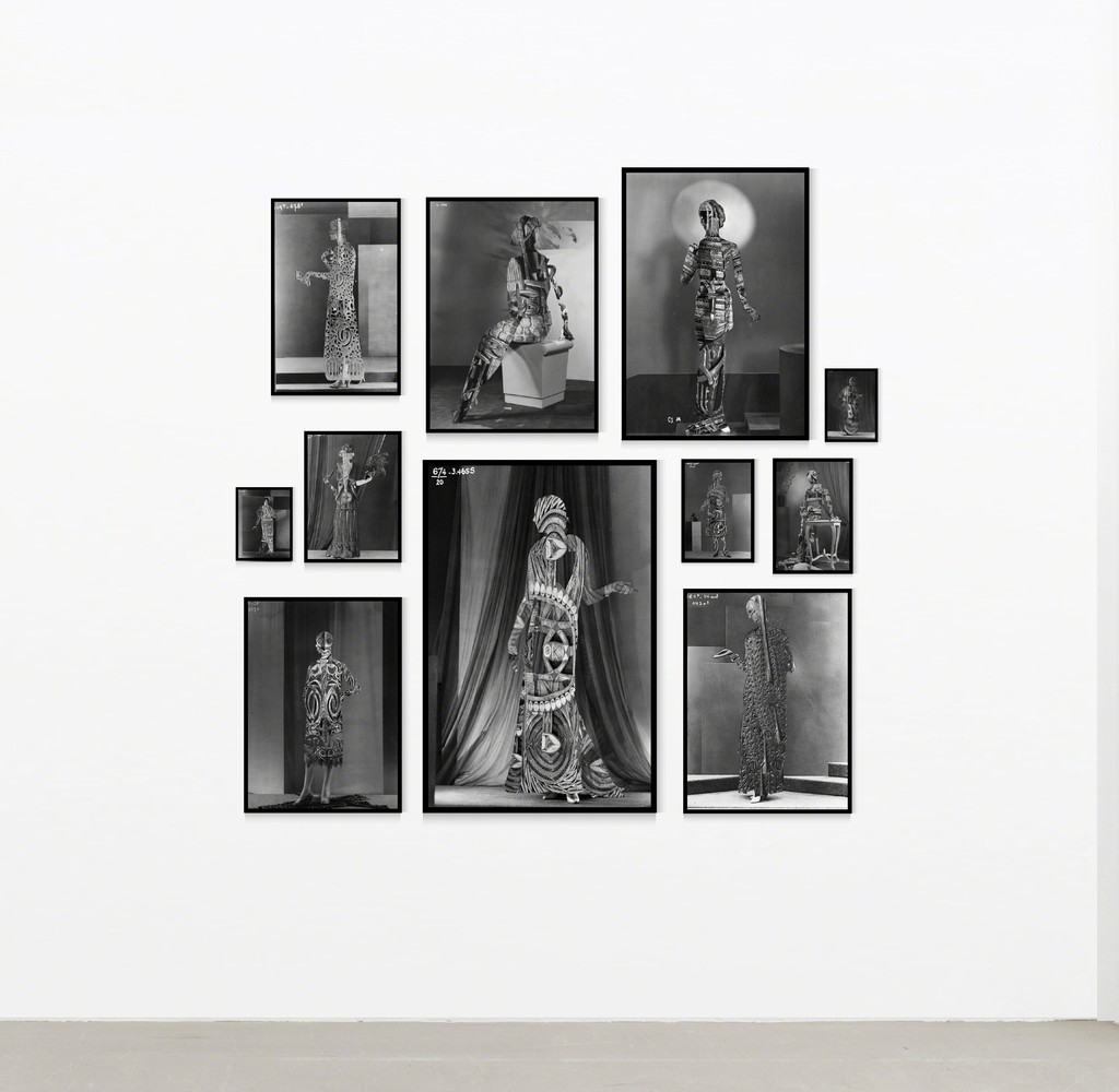 installation view Shannon Bool, Mailorder Brides-Series, 11 photograms, dimensions variabler