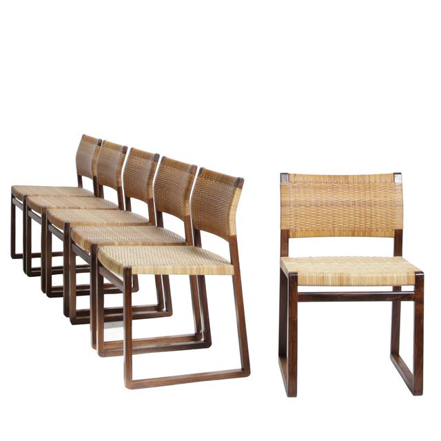 Börge Mogensen, 'Set of 6 dining chairs', 1957, Dansk Møbelkunst Gallery