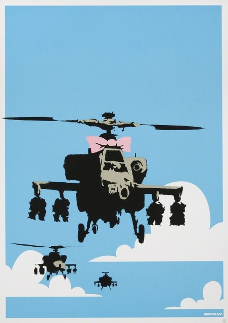 Banksy, 'Happy Chopper', 2003, Vernissage Art Advisory