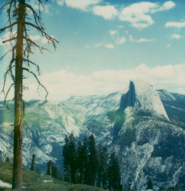 Carmen de Vos, 'Yosemite #135 - from the series US Road trip Diary ', 2007, Photography, Archival pigment print on canvas, photo based on an expired Polaroid, Instantdreams