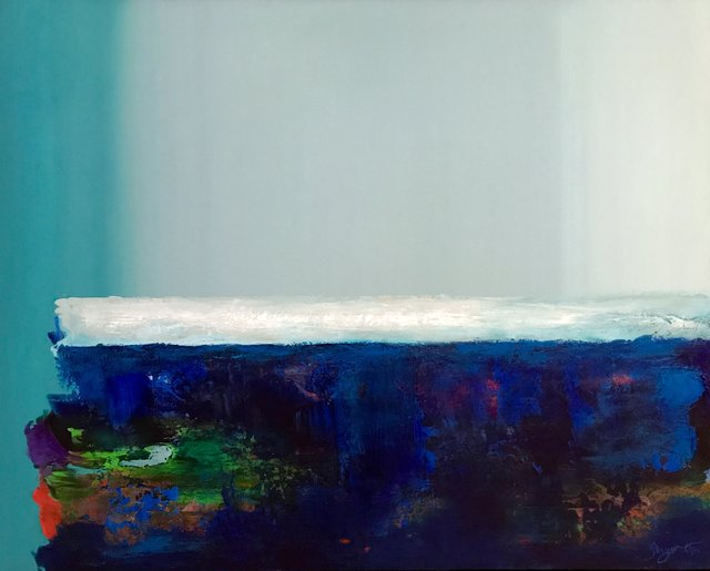 , 'Blue Horizon,' 2018, Ginger Fox Gallery