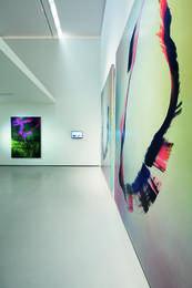 Exhibition View Hubert Scheibl – Fly, Photo: © Belvedere, Vienna