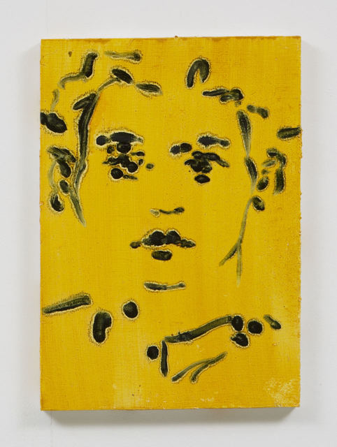 , 'Acid face girl,' 2015, Evelyn Yard