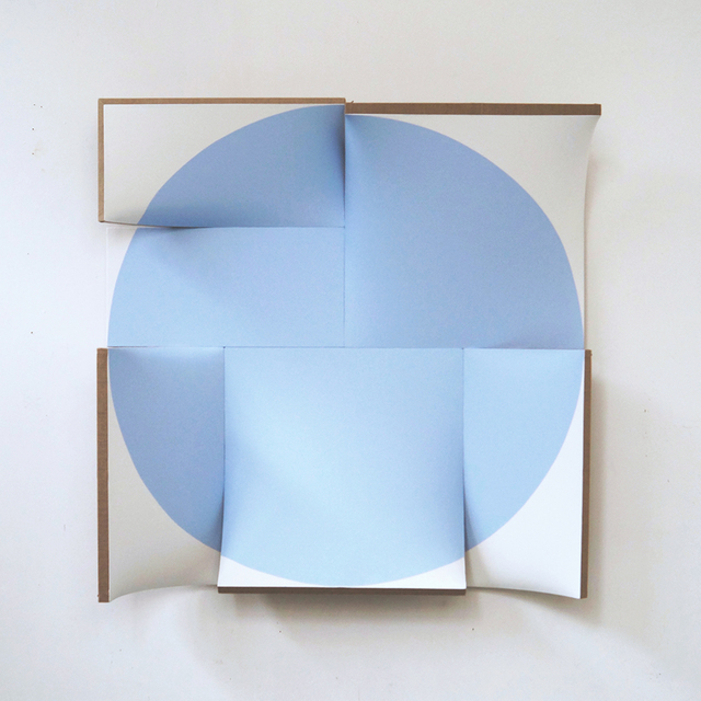 , 'Improved Pointless Light Blue,' 2014, Peter Blake Gallery