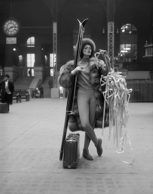 , 'Ticker Tape: Linda Harper, Penn Station,' ca. 1958, Staley-Wise Gallery